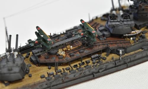 日本海軍 高速戦艦 【金剛】1944 サマール沖海戦時DSC_0154-1-(3)◆模型製作工房 聖蹟