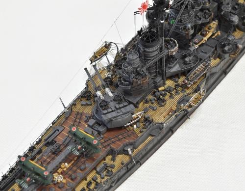 日本海軍 高速戦艦 【金剛】1944 サマール沖海戦時DSC_0169-1-(3)-(3)◆模型製作工房 聖蹟