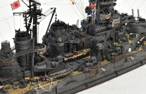 日本海軍 高速戦艦 【金剛】1944 サマール沖海戦時DSC_0198-1-(3)◆模型製作工房 聖蹟