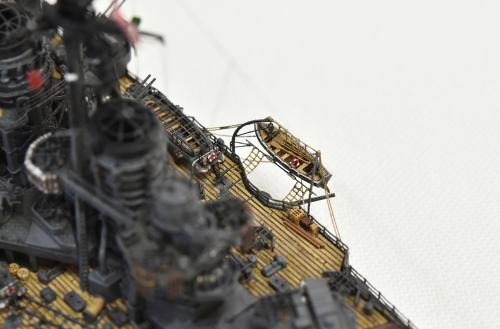 日本海軍 高速戦艦 【金剛】1944 サマール沖海戦時DSC_0217-1-(3)◆模型製作工房 聖蹟