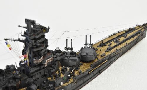 日本海軍 高速戦艦 【金剛】1944 サマール沖海戦時DSC_0246-1-2◆模型製作工房 聖蹟
