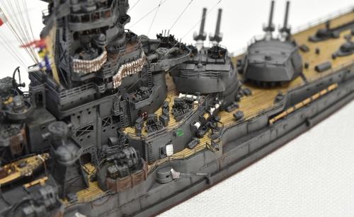 日本海軍 高速戦艦 【金剛】1944 サマール沖海戦時DSC_0255-1-3◆模型製作工房 聖蹟