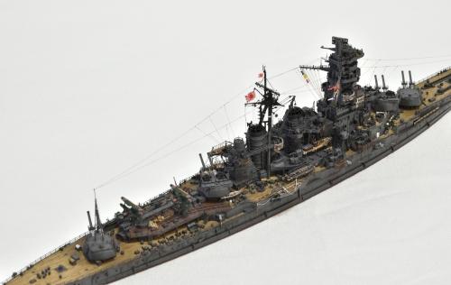 日本海軍 高速戦艦 【金剛】1944 サマール沖海戦時DSC_0271-1-2◆模型製作工房 聖蹟