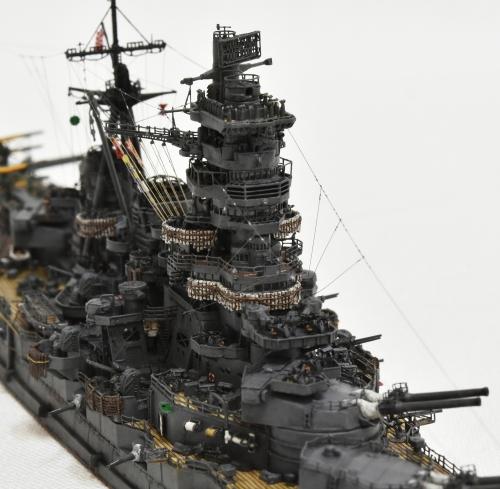 日本海軍 高速戦艦 【金剛】1944 サマール沖海戦時DSC_0281-1-(3)-(3)◆模型製作工房 聖蹟