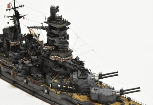 日本海軍 高速戦艦 【金剛】1944 サマール沖海戦時DSC_0310-1-(3)◆模型製作工房 聖蹟