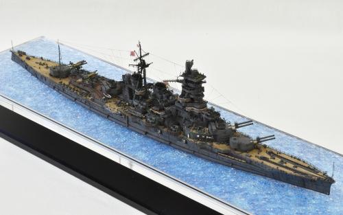 日本海軍 高速戦艦 【金剛】1944 サマール沖海戦時DSC_0313-1-2◆模型製作工房 聖蹟