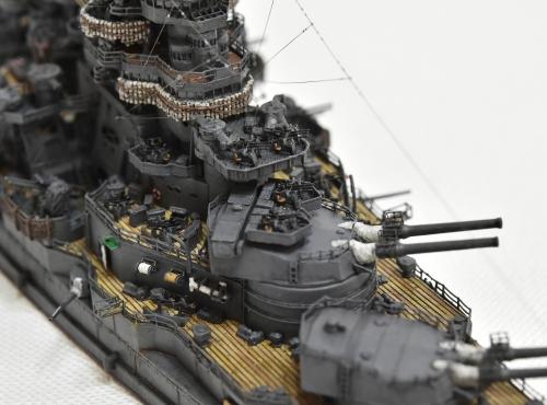 日本海軍 高速戦艦 【金剛】1944 サマール沖海戦時DSC_0316-1-(3)-(3)◆模型製作工房 聖蹟
