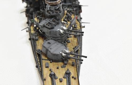 日本海軍 高速戦艦 【金剛】1944 サマール沖海戦時DSC_0338-1-3◆模型製作工房 聖蹟