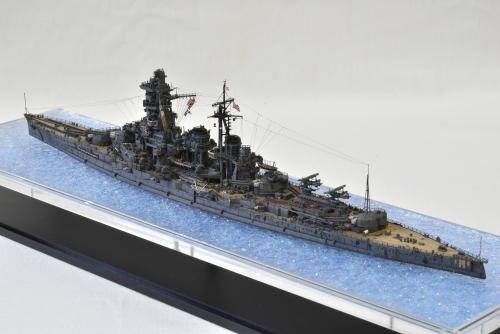 日本海軍 高速戦艦 【金剛】1944 サマール沖海戦時DSC_0339-1◆模型製作工房 聖蹟