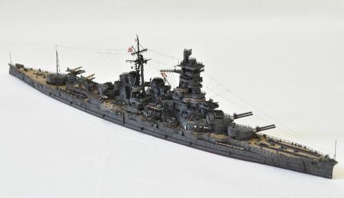 日本海軍 高速戦艦 【金剛】1944 サマール沖海戦時DSC_0392-1-2◆模型製作工房 聖蹟