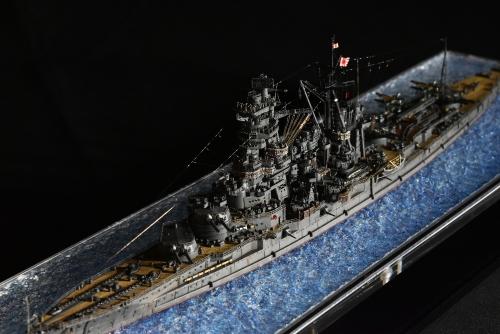 日本海軍 高速戦艦 【金剛】1944 サマール沖海戦時DSC_0403-1◆模型製作工房 聖蹟