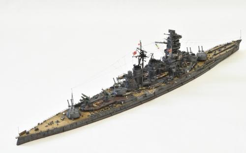 日本海軍 高速戦艦 【金剛】1944 サマール沖海戦時DSC_0417-1-2◆模型製作工房 聖蹟