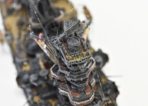 日本海軍 高速戦艦 【金剛】1944 サマール沖海戦時DSC_0658-1-(3)◆模型製作工房 聖蹟