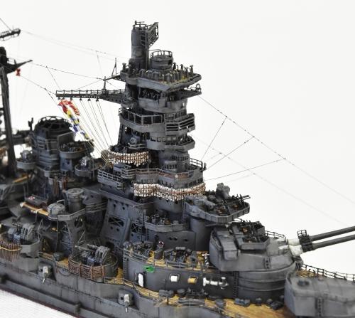 日本海軍 高速戦艦 【金剛】1944 サマール沖海戦時DSC_0685-1-(3)-(3)◆模型製作工房 聖蹟