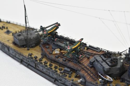 日本海軍 高速戦艦 【金剛】1944 サマール沖海戦時DSC_0787-1-(3)◆模型製作工房 聖蹟