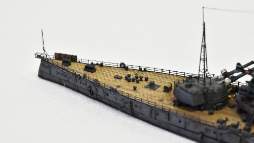 日本海軍 高速戦艦 【金剛】1944 サマール沖海戦時DSC_0792-1-3◆模型製作工房 聖蹟