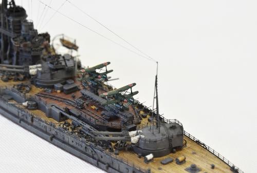 日本海軍 高速戦艦 【金剛】1944 サマール沖海戦時DSC_0829-1-3◆模型製作工房 聖蹟