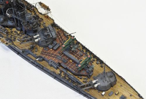 日本海軍 高速戦艦 【金剛】1944 サマール沖海戦時DSC_0845-1-3◆模型製作工房 聖蹟