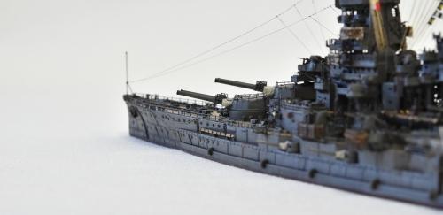日本海軍 高速戦艦 【金剛】1944 サマール沖海戦時DSC_0947-1-(3)◆模型製作工房 聖蹟