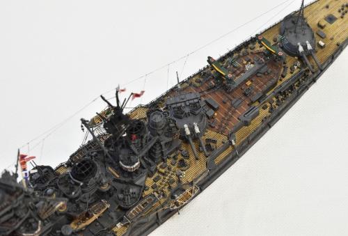 日本海軍 高速戦艦 【金剛】1944 サマール沖海戦時DSC_1007-1-3◆模型製作工房 聖蹟