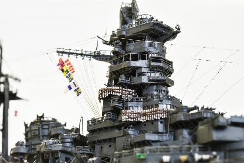 D日本海軍 高速戦艦 【金剛】1944 サマール島沖海戦時SC_0527-1◆模型製作工房 聖蹟
