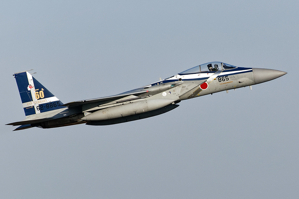 第304飛行隊 F-15J 航空自衛隊60周年記念塗装機