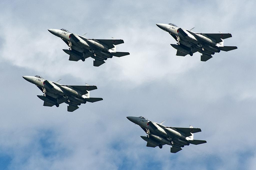第304飛行隊 F-15J マスフライト
