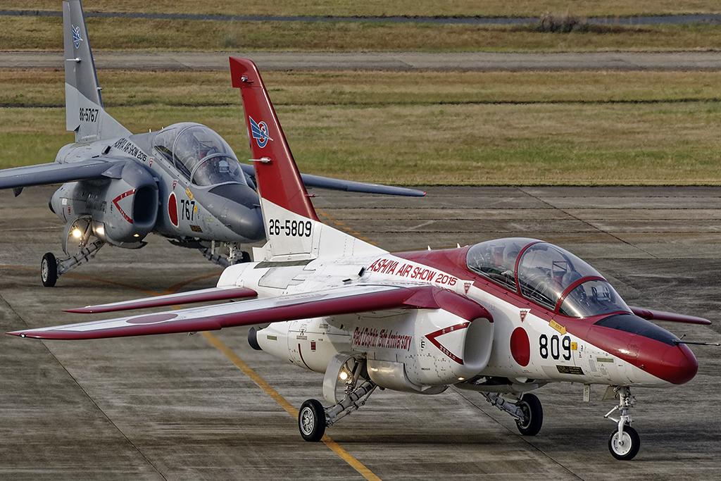 第13飛行教育団 T-4 30周年記念塗装機