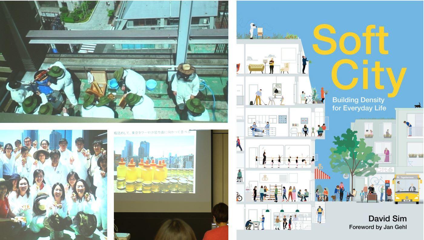 softcity と銀座ミツバチプロジェクト2