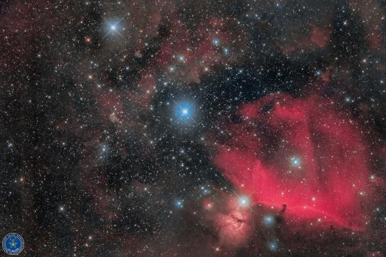 オリオンベルト&馬頭星雲+