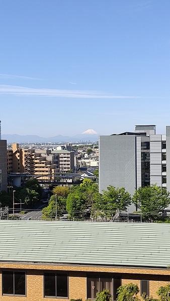富士山が見えた20210422