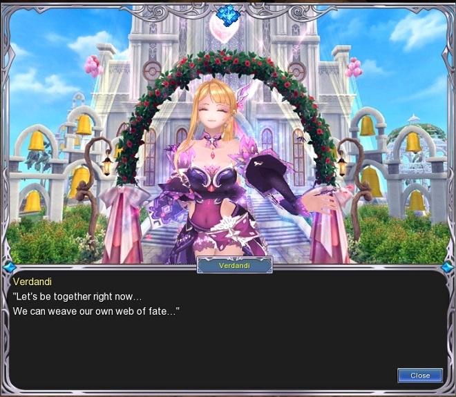 幻想ブログ用306A2 ベルダンディと結婚