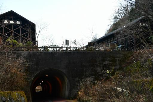 20201204・三頭山空22・森林館トンネルと空