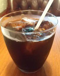 ランタンバーガーアイスコーヒー