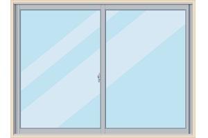 Aluminum sash