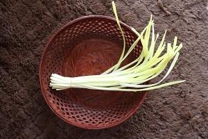 Yellow garlic
