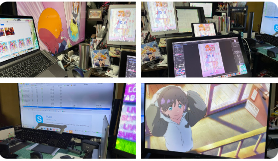 【悲報】Twitterの人気ラブライブ絵師さん、Torrentでラブライブのアニメを落としてるのを堂々と晒してしまう…