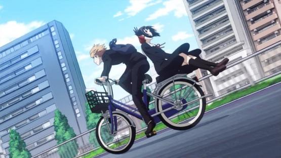 10年くらい前に放送してたアニメの2人乗り対応がこちらwwww