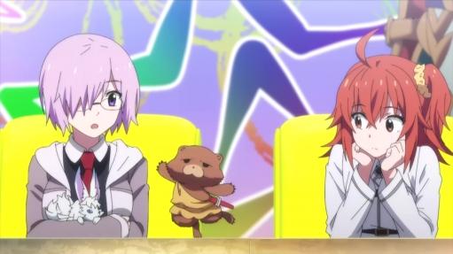 【朗報】FGOのアニメで「フェイト グランドカーニバル」が一番面白い!! しかもぐだ子(女主人公)が一番可愛い!!
