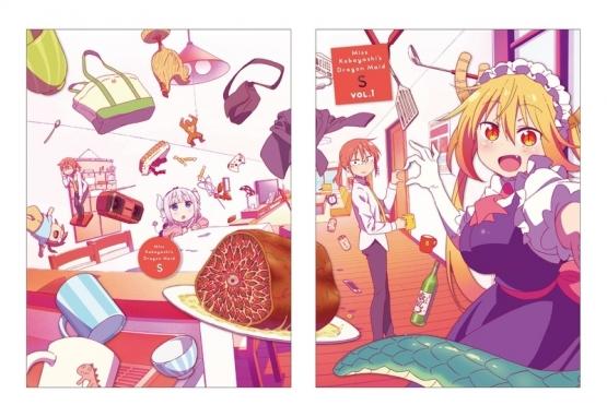 【アニメ円盤売上げ】今期トップクラスで面白い『小林さんちのメイドラゴン S (2期)』の売上げが・・・・