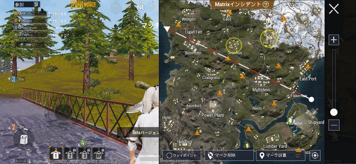 exhunt map