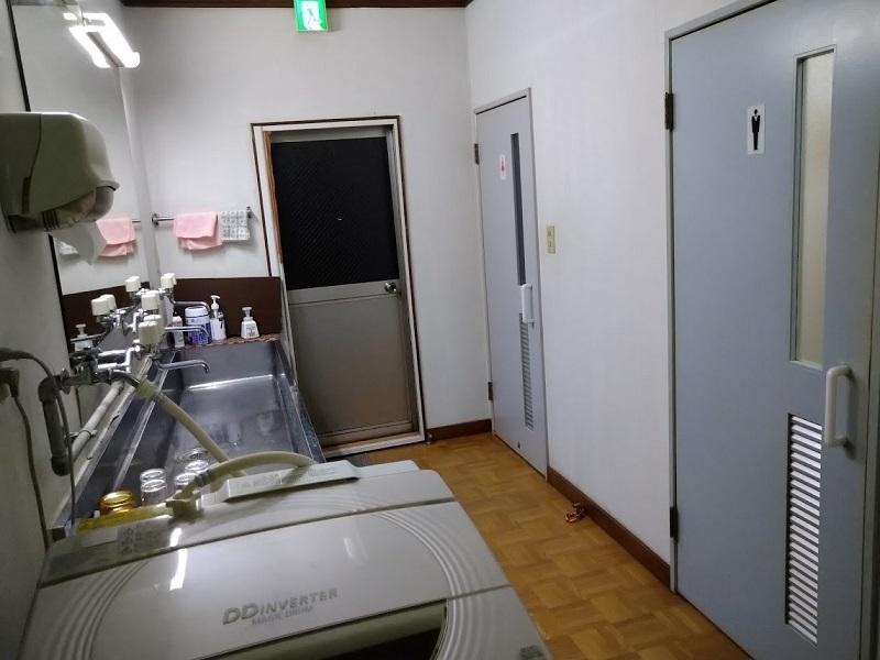 共用スペース_トイレ、洗面台