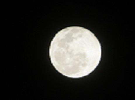 2021 1 29 満月(ウルフムーン)、