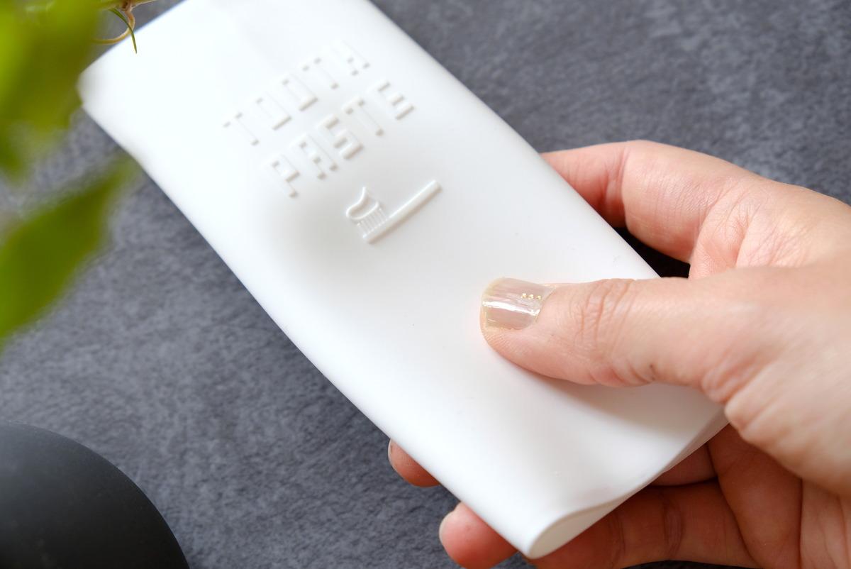 セリア・シリコン製歯磨き粉カバー④