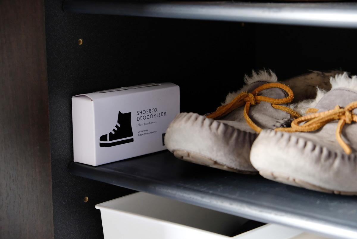 セリア・活性炭脱臭剤・靴箱用②