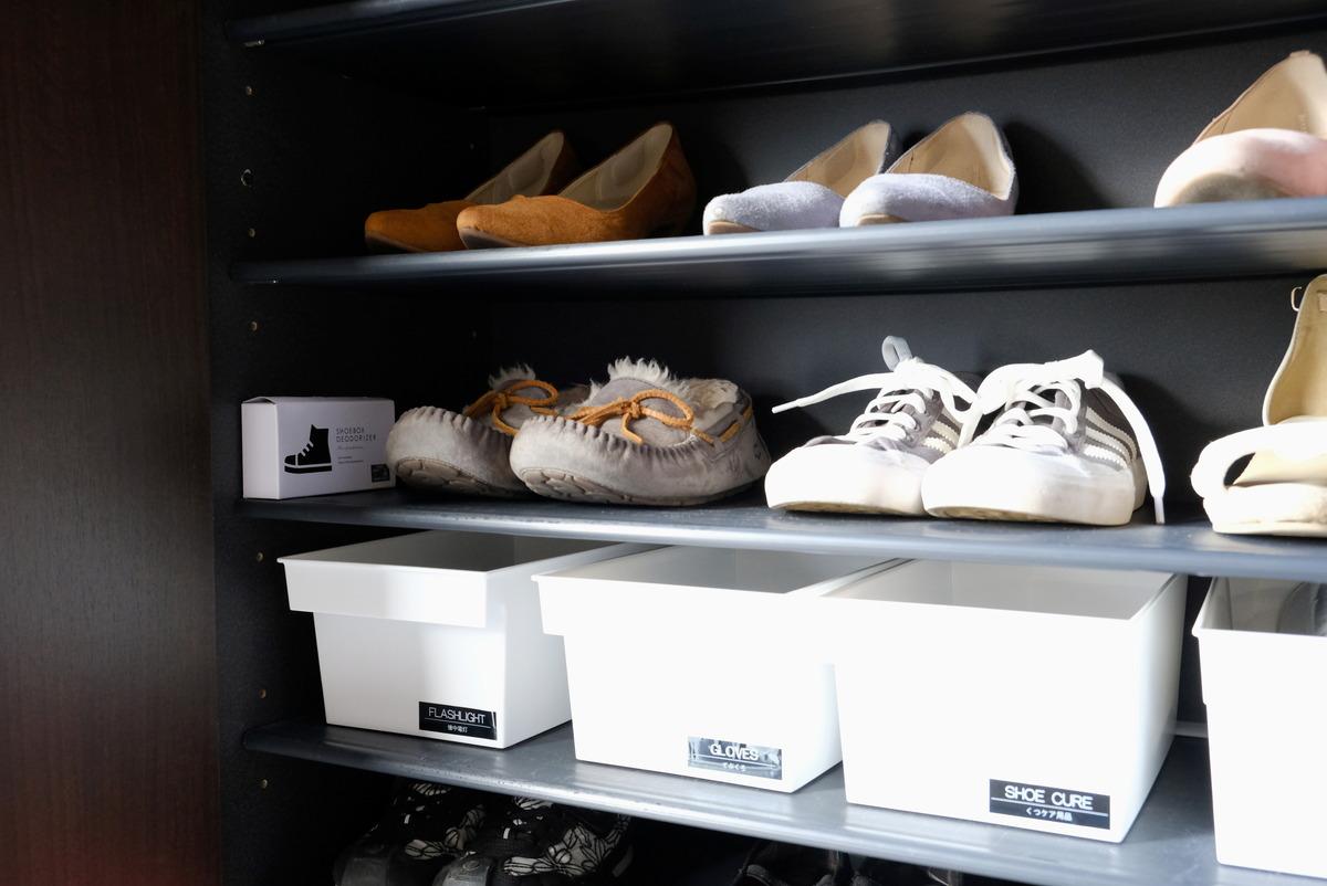 セリア・活性炭脱臭剤・靴箱用③