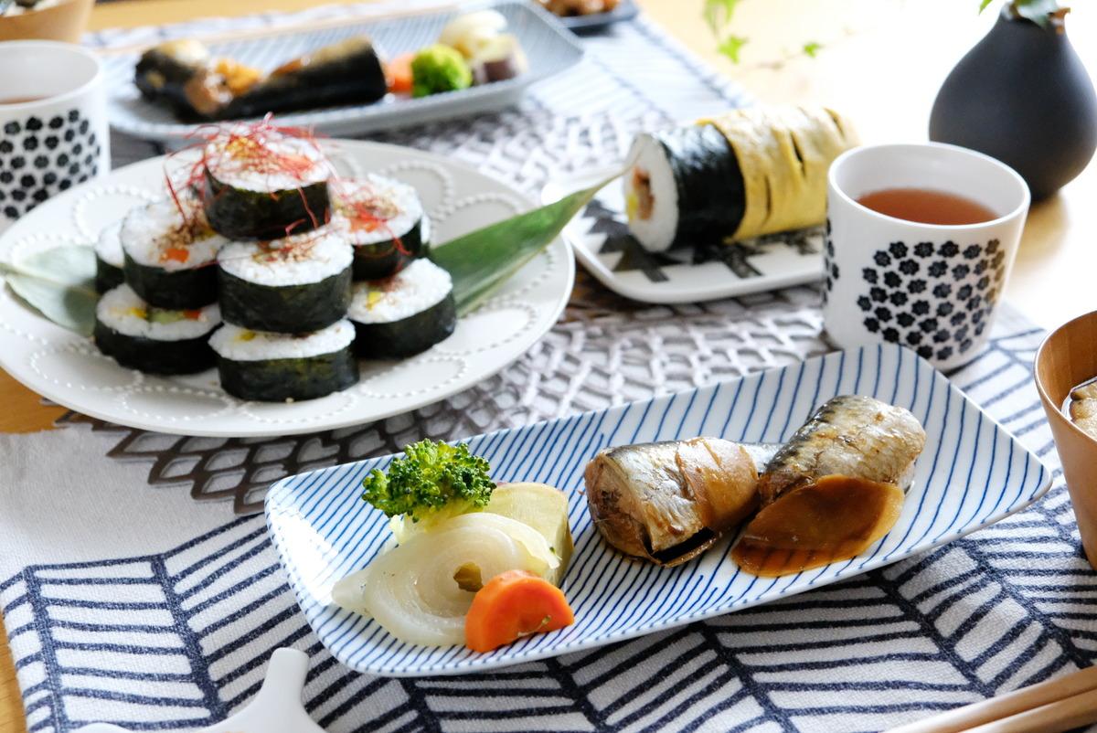 ダイソー・シリコーン小鍋・節分・恵方巻・温野菜①