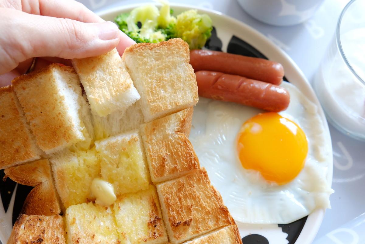 ダイソー・オーブントースター用 スチーム皿・業務スーパー・天然酵母食パン①