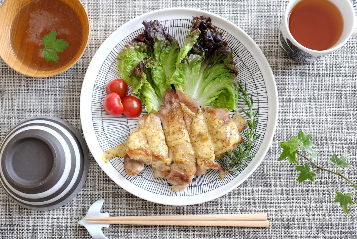鶏もも肉ソテー・シイルトラプータルハ25cm①