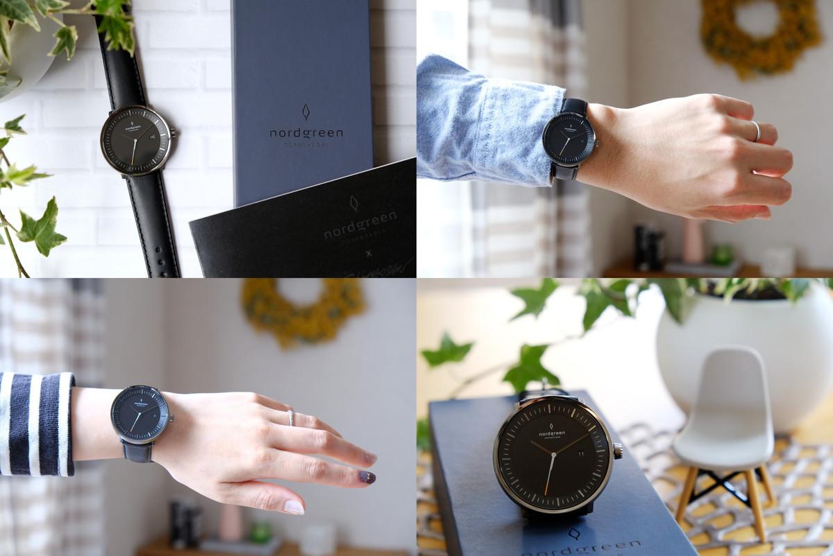 Nordgreen(ノードグリーン)・Philosopher・ブラック・ガンメタル・腕時計②